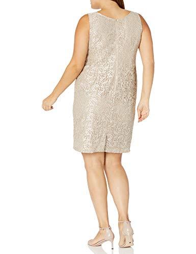 Alex Evenings Plus Size Women's Short Lace Jacket Dress
