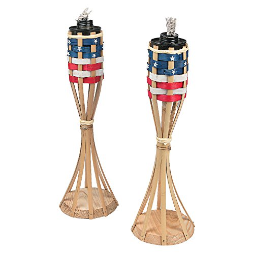 Fun Express Patriotic Tabletop Torches