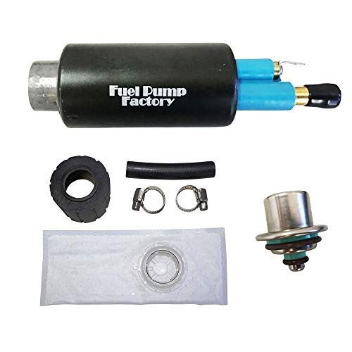 FPF fuel pump 2004-2007 Polaris Sportsman 700/800 / MV7 / X2 ATV EFI with Installation kit and Fuel Pressure Regulator - Replaces 2520502 2520437 2520311 2520461 ()