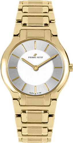 Pierre Petit Women's P-799H Serie Laval Yellow-Gold PVD Watch