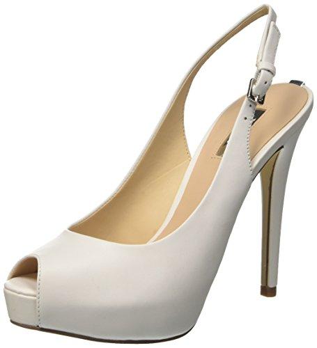 White Huele White para con Blanco Mujer Sandalias Plataforma Guess 4d0fw4