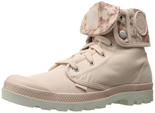 Palladium Women's Baggy Combat Boot, Dust Rose, 11 M US
