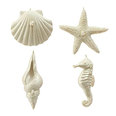 417wEia1L4L._SS450_ Seashell Christmas Ornaments