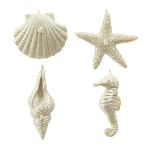 417wEia1L4L Amazing Seashell Christmas Ornaments