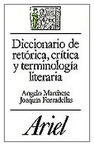 Diccionario de Retorica, Critica y Terminologia Literaria pdf epub