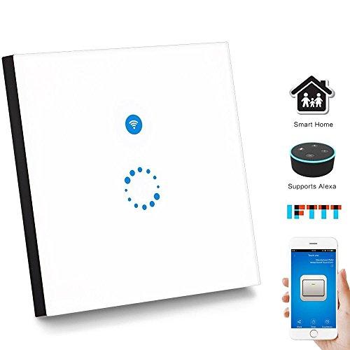 WIFI Smart Touch Switch Works with Amazon Alexa...