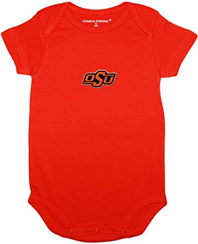 Oklahoma St Newborn Baby Clothes, Cowboys, Boy and Girl College Bodysuit
