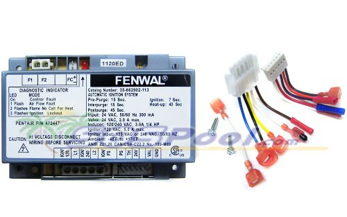Pentair MiniMax NT LN STD Ignition Control Module 460783 (Pentair Minimax Module)