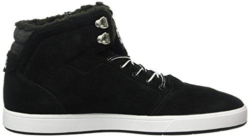 DC Crisis WNT, Sneaker Alte Uomo Nero (Black/White - Bkw)