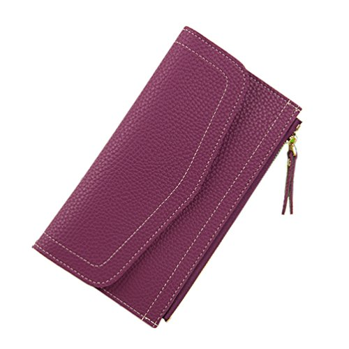 Damen Leder Geldbörsen Taschen Damen Portemonnaie Damen Geldbeutel Damenhandtasche,Brieftasche Kreditkartenetui Wallet,RFID-Diebstahlschutzmappe. Abschirmmaterial auswählen G