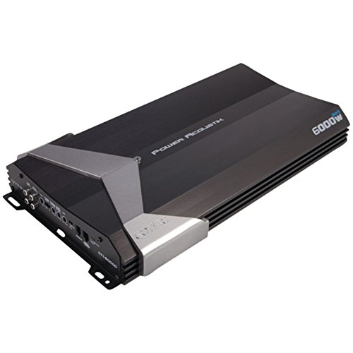 Power ACOUSTIK GT1-6000D Gothic Series Class D Amp (6,000W max; 2,300W @ 4_) Consumer Electronics Accessories