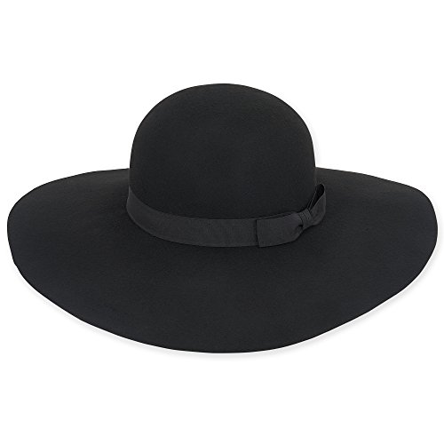 adora-womens-wool-felt-wide-brim-floppy-fedora-hat-with-grosgrain-trim-459-a-black
