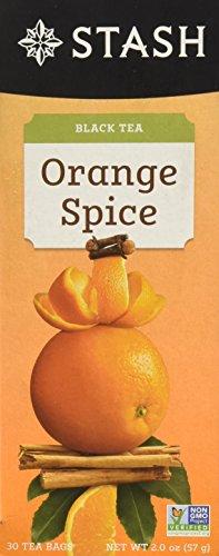 Stash Tea Orange Spice Black Tea, 30 Count ()