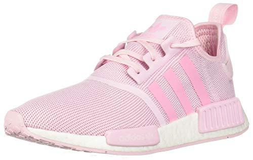adidas Originals Unisex NMD_R1 Running Shoe Clear Shock Pink/White, 3.5 M US Big Kid by adidas Originals (Image #1)