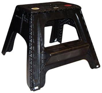 Astonishing Amazon Com Br Plastics 105 4Bk Black Ez Foldz Two Step Squirreltailoven Fun Painted Chair Ideas Images Squirreltailovenorg