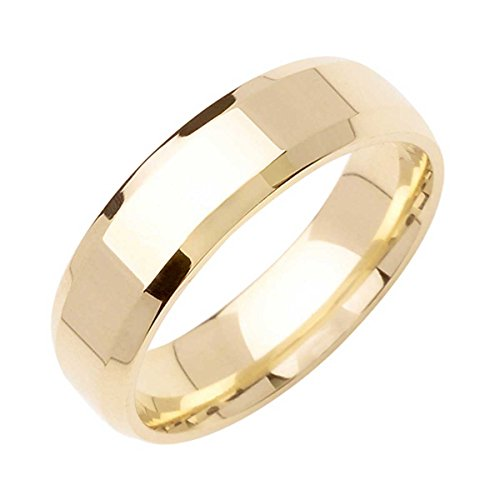 18K Gold Traditional Top Flat