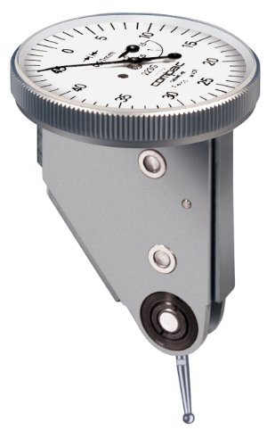 (Brown & Sharpe TESA 223GLA Compac Lever Dial Test Indicator, Vertical Type, M1.6 Thread, 0.157
