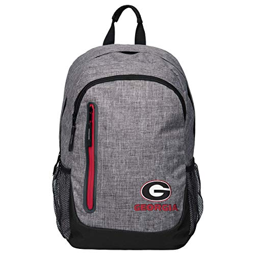 - FOCO NCAA Georgia Bulldogs Heather Grey Bold Color Backpackheather Grey Bold Color Backpack, Team Color, One Size