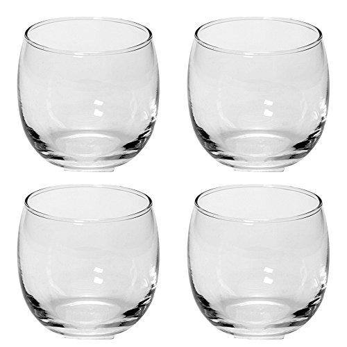 12 Teelichtgläser klar, 8 x 8 cm, für Teelichte, Maxiteelichte, Tischdeko, Gastgeschenke, Hochzeitsdeko, Partydeko etc.