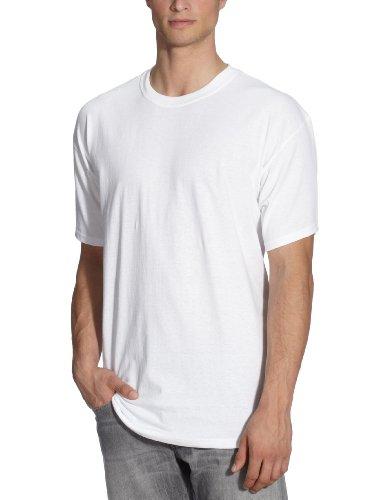 Fruit of the Loom 112120 Herren T-Shirt, Gr. 50 (M), weiss (weiss)