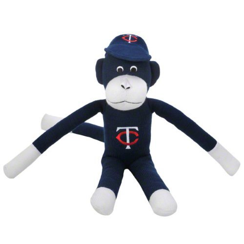 Minnesota Twins Team Sock Monkey