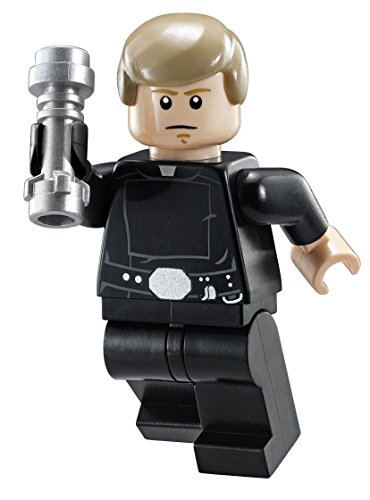 LEGO Star Wars Final Duel Minifigure -  Luke Skywalker with Black Hand and Lightsaber (75093) - Lego Luke Skywalker