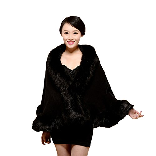 pinkmerry-womens-faux-fox-fur-wrap-cape-shawl-for-party