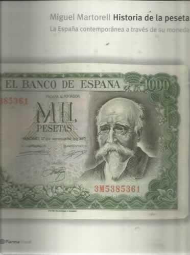 Historia de la peseta : la España contemporánea a través de su moneda: Amazon.es: Libros