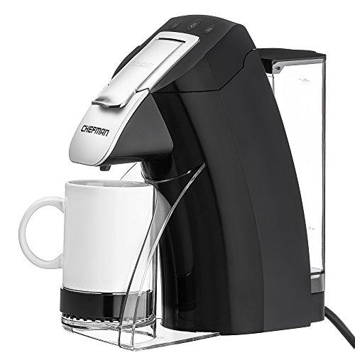 Chefman, My Barista Single Serve Coffee Maker, Black