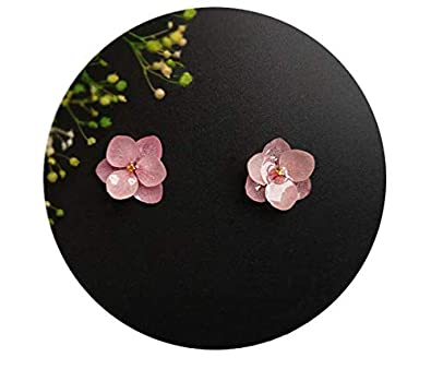 Helen de Lete Immortal Flowers S925 Sterling Silver Earrings