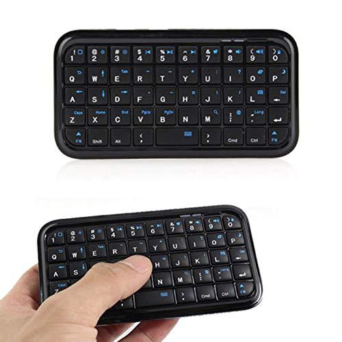 Finetoknow Keyboard, Keypad, Wireless Mini Keyboard Rechargeable Bluetooth Keyboards for Tablet PS4 Phone Raspberry Pi