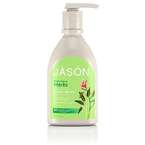 Jason Herbal Satin Body Wash Pump 900ml (PACK OF 4)