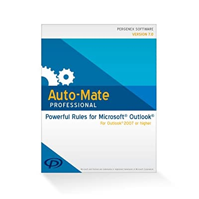 Auto-Mate Professional 7 for Outlook (32 bit) [Download]