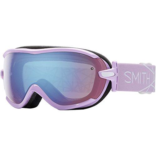 - Smith Optics Virtue Women's Spherical Series Snow Snowmobile Goggles Eyewear - Blush/Blue Sensor Mirror/Small