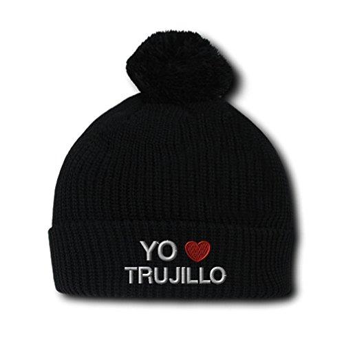 Yo Am (Black Spanish Hat With Pompoms)