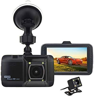 ダッシュカム、1080PのフルHD車のカメラ、車用3インチDashcams、WDRの24H駐車場モニター、Gセンサーとループ・レコーディング