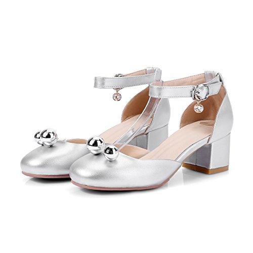 D'Étudiants Seule Dame Sangle D'Épais EU40 L'Aide Chaussures Avec À Chaussures Haut Femmes Une Baotou Talon SHOESHAOGE Sandales WZwqFw8f