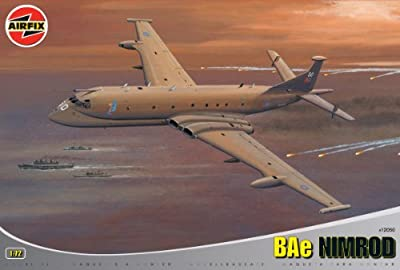 Airfix A12050 1:72 Scale Hawker Siddeley BAe Nimrod MR-2P Military Aircraft Limited Edition Classic Kit