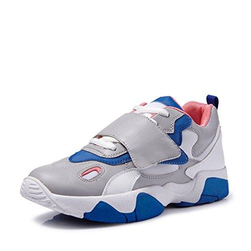Las mujeres de Corea zapatos de los deportes en el otoño/ cómodos zapatos con Velcro planos A