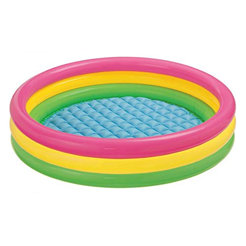Intex Kiddie Pool - Kid's Summer Sunset Glow Design - 58 x 13