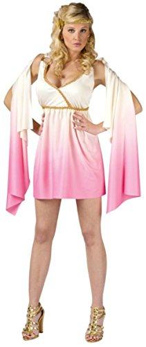 Funworld Womens Sexy Venus Goddess Pink Ombre Theme Party Halloween Costume, S/M (Venus Sexy Costumes)