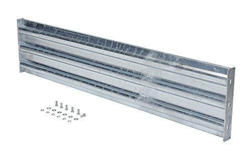 (Vestil GGR-B-6 Galvanized Bolt-On Structural Guard Rail, 66