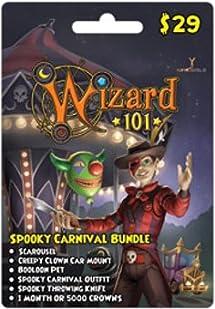 Wizard 101 Spooky Carnival Bundle Prepaid     - Amazon com