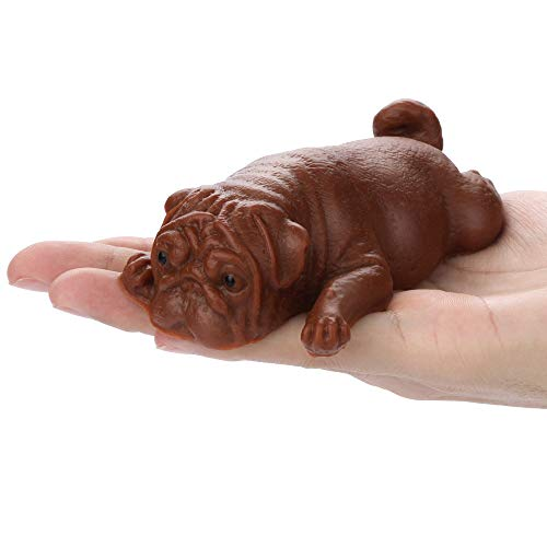 Brown Puppy Jumbo Squishies, Kawaii Cream Scented Squishies Slow Rising Kids Toys Doll Gift Fun Collection Stress Relief Hop Props Decorative Soft Cute Holiday Squishy Toys Pack