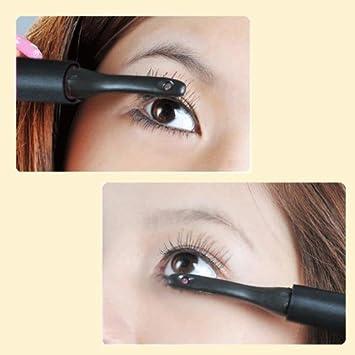 heated eyelash curler results. new mini portable longlasting electric heated eyelash curler eye lashes pen style make up tools black results w