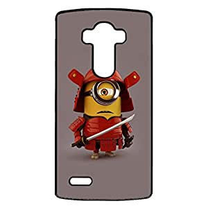 Personalized Cartoon Design Minions Logo Protect Skin LG G4 Protective Cover Case with Creative Minions Anime Element