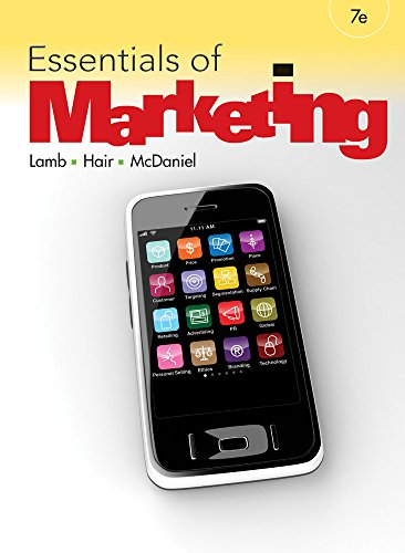 CengageNOW (with eBook) for Lamb/Hair/McDaniel's Essentials of Marketing, 7th Edition