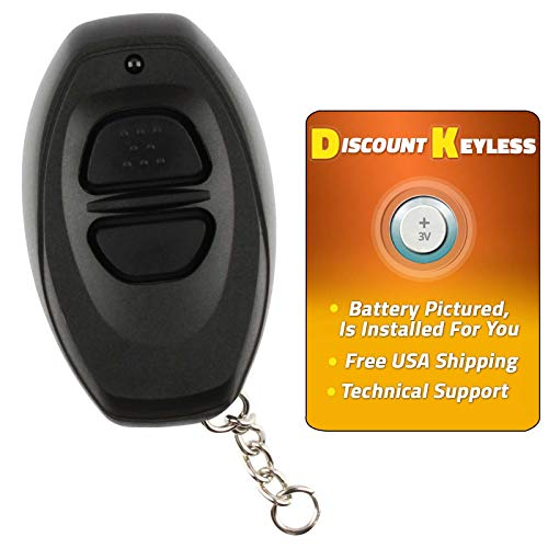 (For 90-97 Toyota Keyless Entry Remote Key Fob Dealer Installed Systems RS3000 BAB237131-022, 08191-00922 - BLACK)