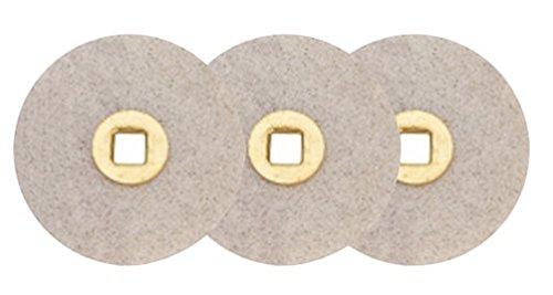 Box of 100 Moore Magnum Sanding Abrasive Discs Fine Grit 7//8 Aluminum-Oxide Jewelry Making Non-Precious Metal Polishing