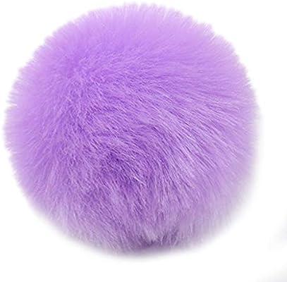 Mentin - Pompón de pelota, 2 unidades, 8 cm, pompón de peluche ...